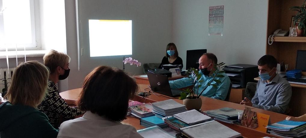 Обмін досвідом організації освітнього процесу в умовах змішаного навчання