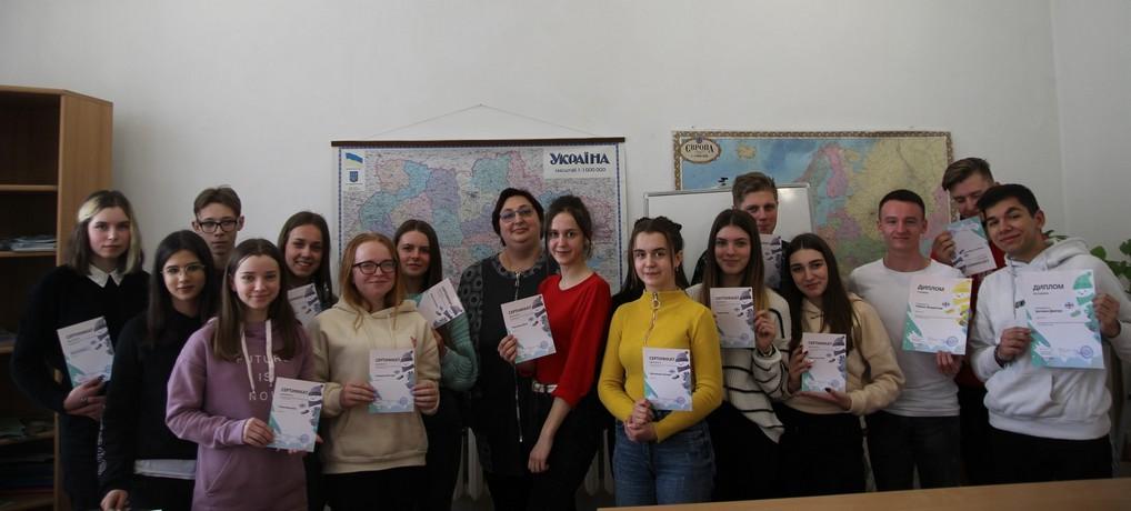 Чергові здобутки студентів у вивченні англійської мови